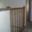 New oak bannister and spindles